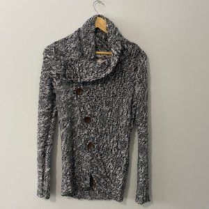 Element Knit Button Up Cardigan